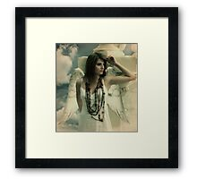 Waiting for my wings to grow Framed Print