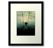 Walk Away Framed Print