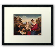 a wonderful Holy See landscape Framed Print