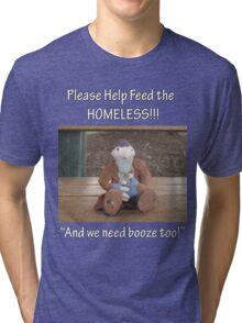 Feed the Homeless Tri-blend T-Shirt