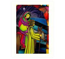 Stable Environment In Bethlehem Art Print