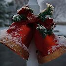 Christmas Bells and Snow by ericseyes