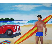 Surfer Guy Photographic Print