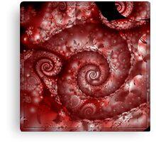 Spiral Pong + Parameter Canvas Print