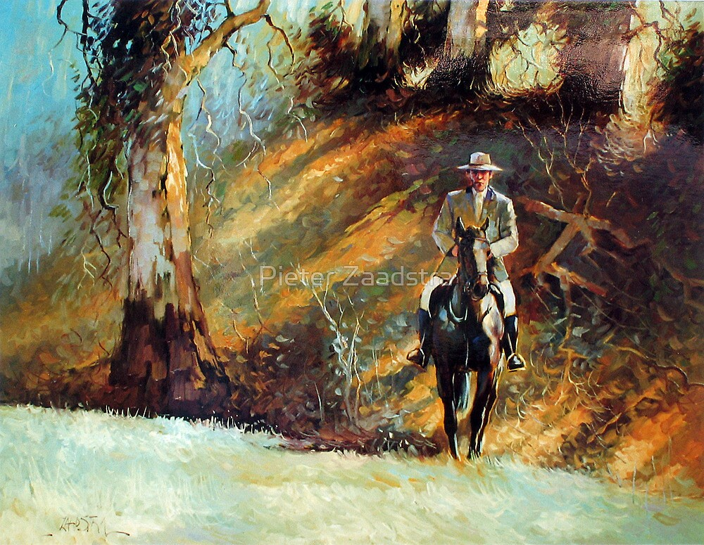 Up Rode the Squatter..   - Waltzing Matilda Series  by Pieter  Zaadstra
