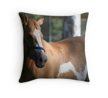 Waiting Patiently Throw Pillow