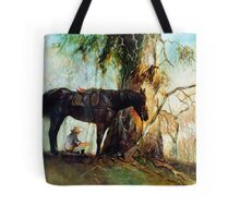 Squatter Scout - Waltzing Matilda Series Tote Bag