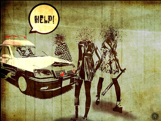 Girls Who Don't Like Authority II by AlexanderNero