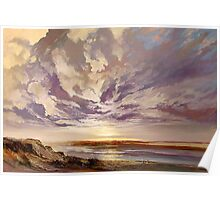 Coorong Sky Study Poster