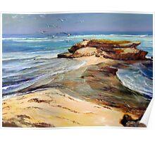 Post Office Rocks - Beachport, South Australia Poster