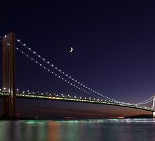 Verrazano Bridge by Jean-Pierre Ducondi