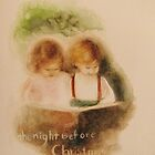 the night before christmas  * special order prints: tokikoandersonart@gmail.com	 by TokikoAnderson