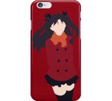 Rin Tohsaka (Fate/stay night Minimalistic Print) iPhone Case/Skin