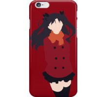 Rin Tohsaka (Fate/stay night Minimalistic Print) iPhone Case/Skin