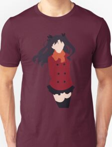 Rin Tohsaka (Fate/stay night Minimalistic Print) Unisex T-Shirt