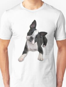 Boston head tilt Unisex T-Shirt