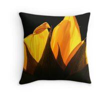 ~golden petals~ Throw Pillow