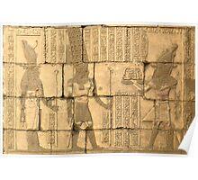 Second Pylon, Temple of Karnak Poster