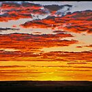 Cooper pedy sunset. by Matt kelly.