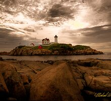 Coastal Maine, USA by Michael Wahlers