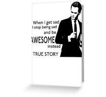 himym Barney Stinson Suit Up Awesome TV Series Inspired Funny  Greeting Card
