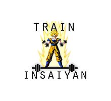 train insaiyan Photographic Print