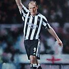 Alan Shearer- well respected Northerner- Newcastle United Football-Icon by allspp