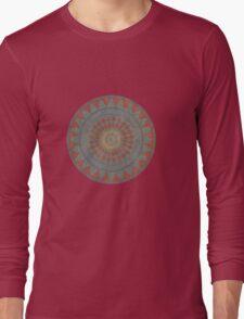 Maroon #1 Long Sleeve T-Shirt