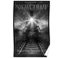 Night Train ( Book Cover ) Poster