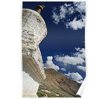 Follow the stupas Poster