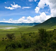 an inspiring Tanzania landscape by beautifulscenes