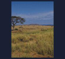 an amazing Tanzania landscape One Piece - Long Sleeve