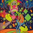 Sad Clown In Happy Town by Adriel Restrepo