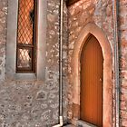 Church Door by Elaine Teague