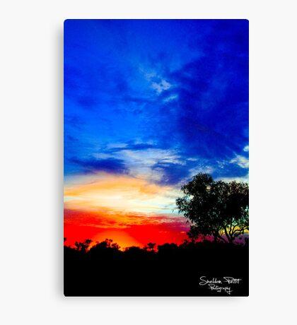 Karijini Sunrise Canvas Print