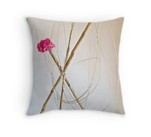Ikebana-148 Throw Pillow
