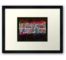 abstract 11 (DaP) Framed Print