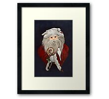 Remember the Meaning Framed Print