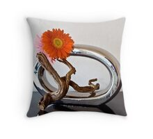 Ikebana-154 Throw Pillow