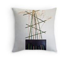 Ikebana-155 Throw Pillow