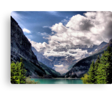 What A View Canvas Print