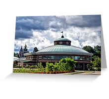 Erie Intermodal transportation Center Greeting Card