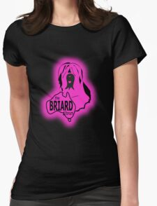 Briard Forum logo Womens Fitted T-Shirt