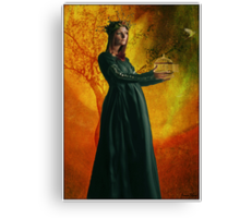 The Empress Canvas Print