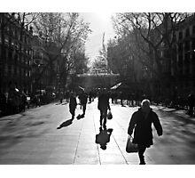 """""""La Rumbla"""" (Barcelona) Photographic Print"""