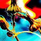 lady bug eat art by Niiso
