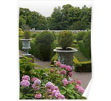 Chillingham Castle Gardens Poster