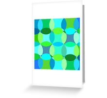 Fun with Blue Greeting Card