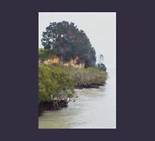 Mangroves and Cliffs Shelly Beach New Zealand Unisex T-Shirt
