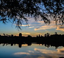 Angkor Wat at Sunrise (color) by ChelcieSPorter